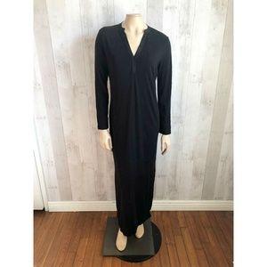 [Peruvian Connection] Cotton Side Slit Maxi Dress